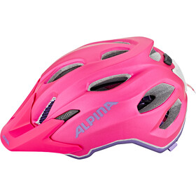 Alpina Carapax Flash Helmet Ungdom deeprose-violet
